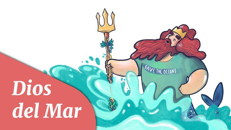 Dios del Mar, otro de los personajes del cuento