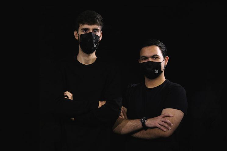 Equipo de producción: Carlos y Javier (de izqda. a dcha.)