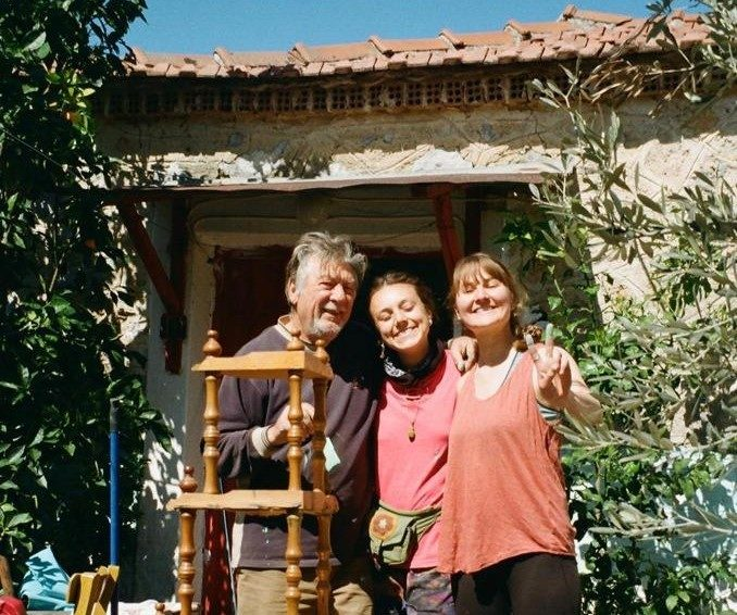 Didi, Georgios y Sonia en Grecia