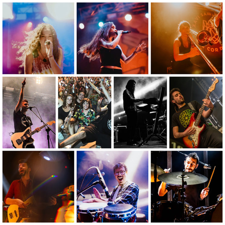Membres de la banda No Falla