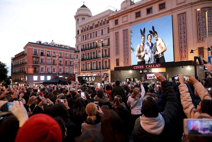 En Callao, Madrid.