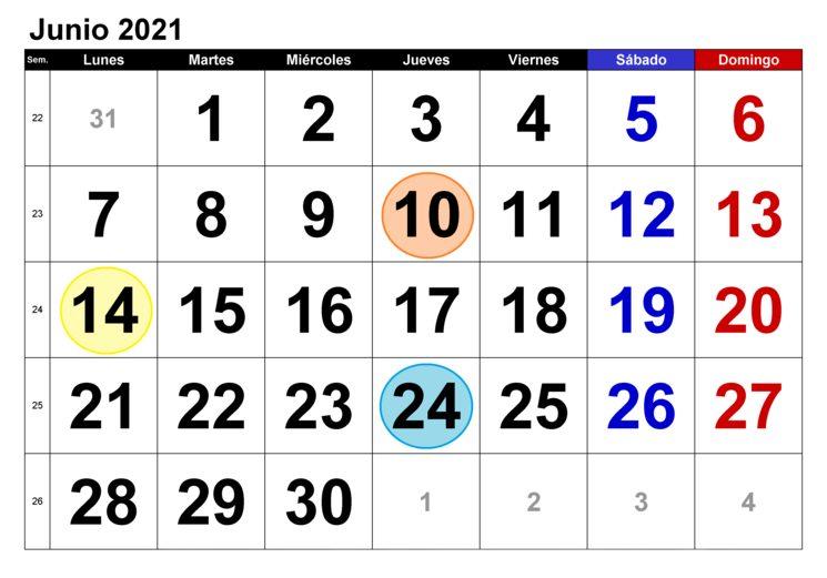 calendario de proyecto