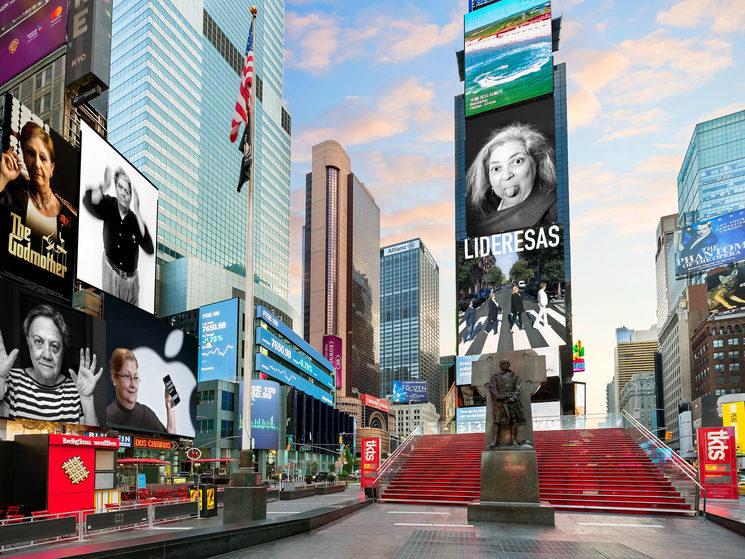 En Times Square, Nueva York