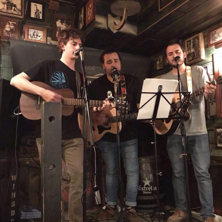 Concierto en el Dublins Bar en Barcelona