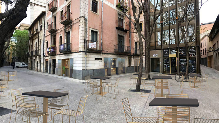 Our goal is to bring new life to an empty terrace!