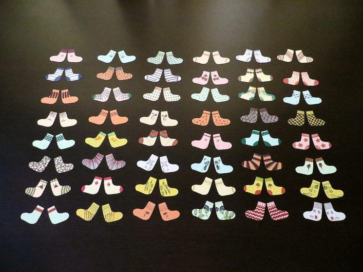 48 pairs of socks