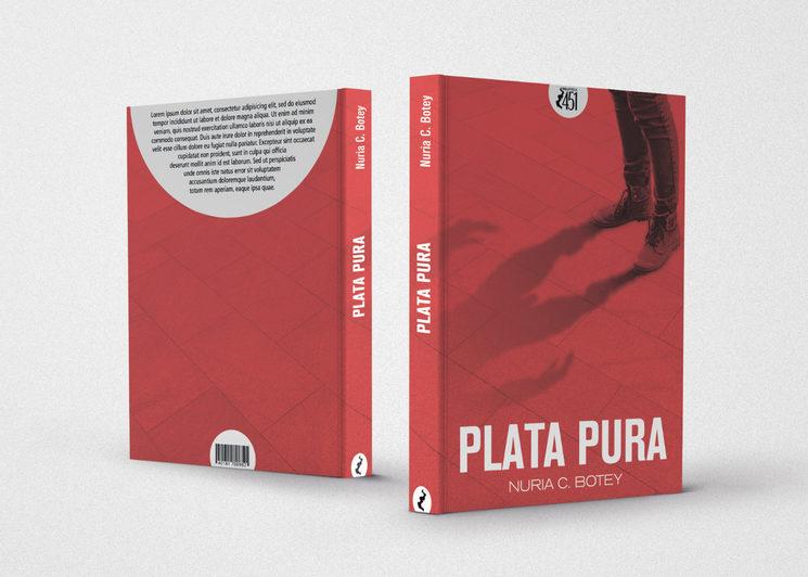 Pruebas de diseño para la edición fisica de la novela. No definitivas.