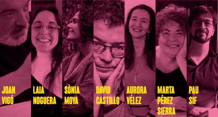 Poetes que seran homenatjats a la 14a festa