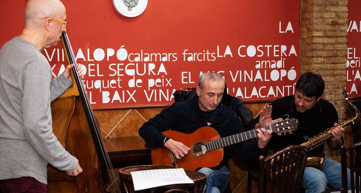 Lucho Aguilar, Jaume Pedrós i Josvi Muñoz