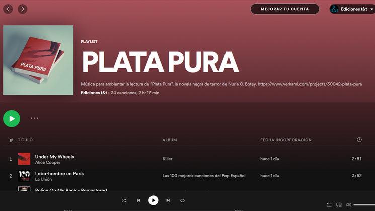 LA MÚSICA DE «PLATA PURA»