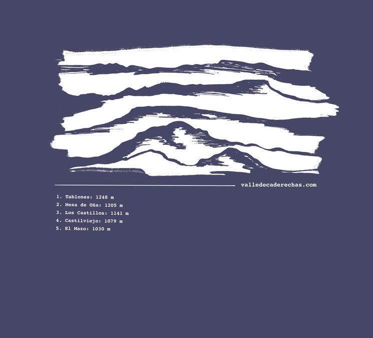 Diseño camiseta: montes Del Valle