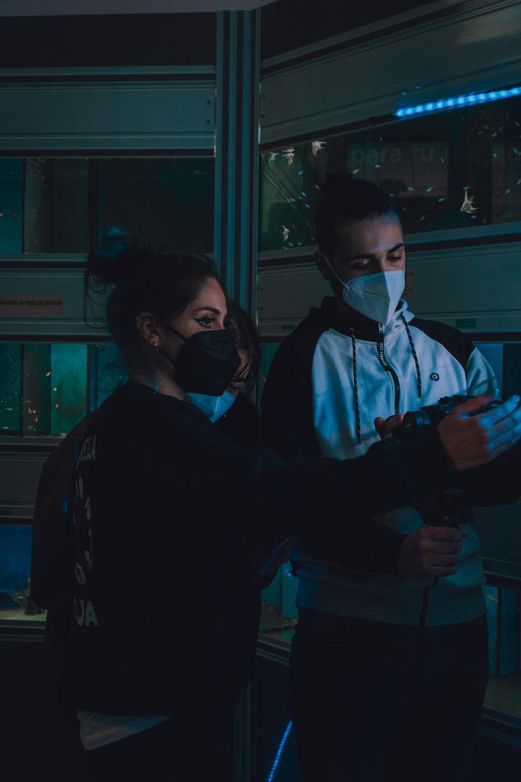 Foto del radaje en el teaser. Foto por Aroa Martínez Vega