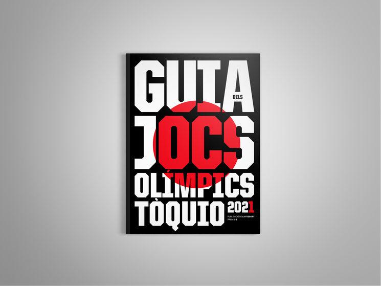 Portada de la Guia dels Jocs Olímpics de Tòquio 2021