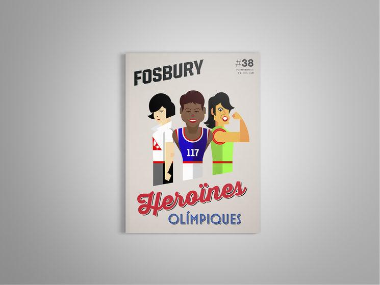 Portada de la revista 38 de la Fosbury