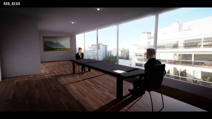 Concept art - Interiors