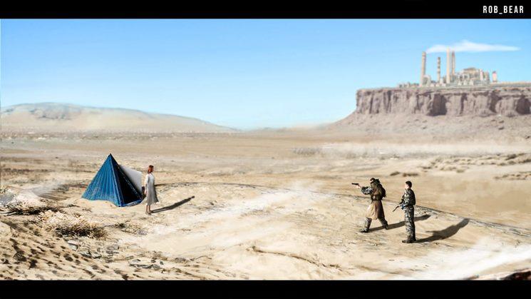 Concept art - Desert