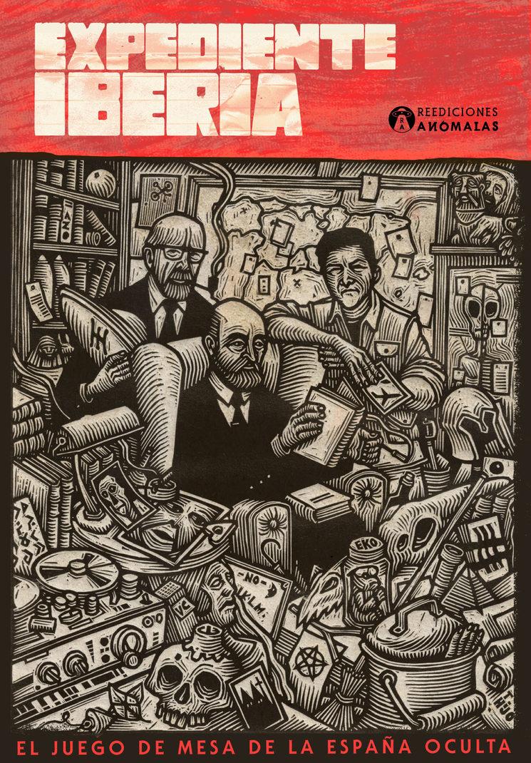 Caja ilustrada por Tomás Hijo