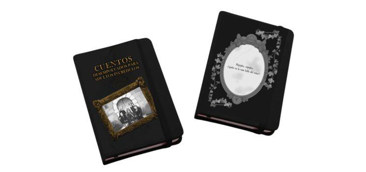 Libretas con ilustraciones del libro