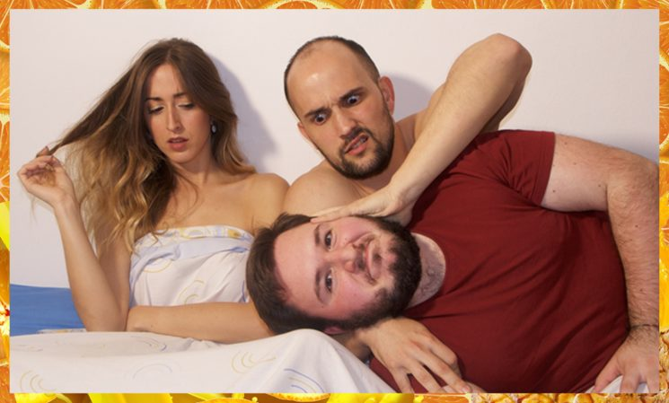 Foto promocional del reparto con Désirée Martínez, Pol Cardona & James R Pérez