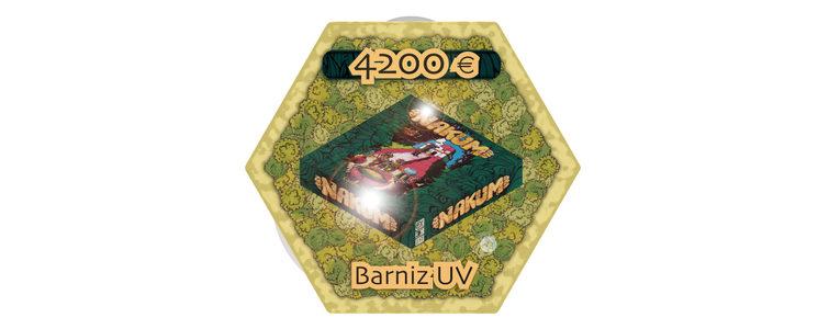 Barniz UV en la caja y ahora… otro objetivo para las ¡ ULTIMAS HORAS !