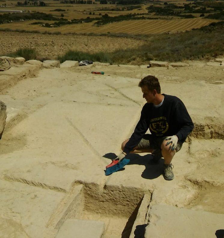 XII Campaña de excavación de Los Bañales