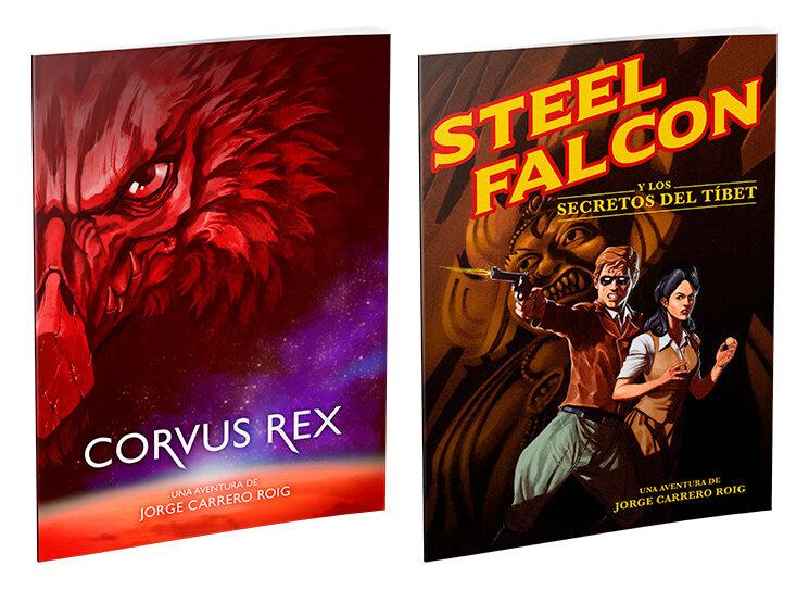 ¡Nuevos add-ons disponibles! Las aventuras Steel Falcon y los secretos del Tíbet, y Corvus Rex.