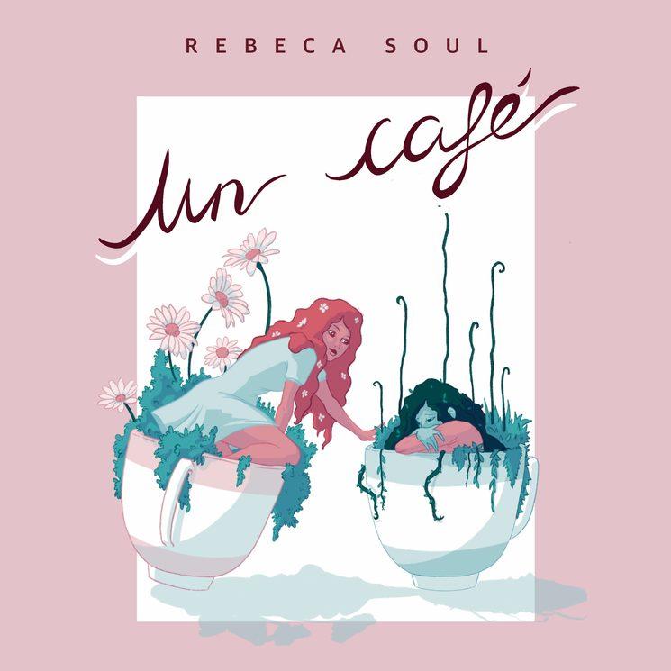 Portada primer single de Rebeca Soul, diseñada por María Escalera Salmerón