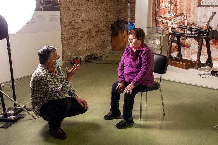 Entrevistada Juani Rodríguez Seco