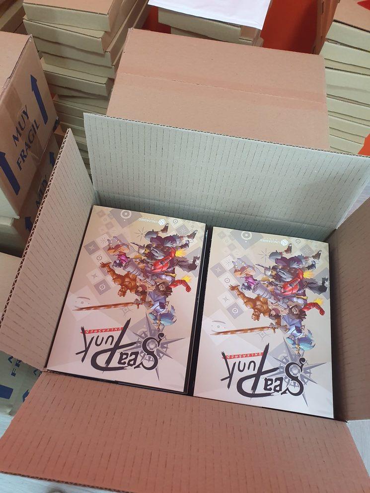 ¡Los libros ya están y los envíos ya están listos!