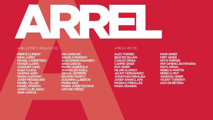 llistat de poetes i cantants del disc Arrel