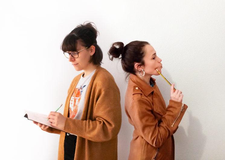 Paula Cheshire (esquerda) e María Mosquera (dereita)