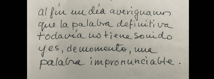 Manuscript of my grandpa