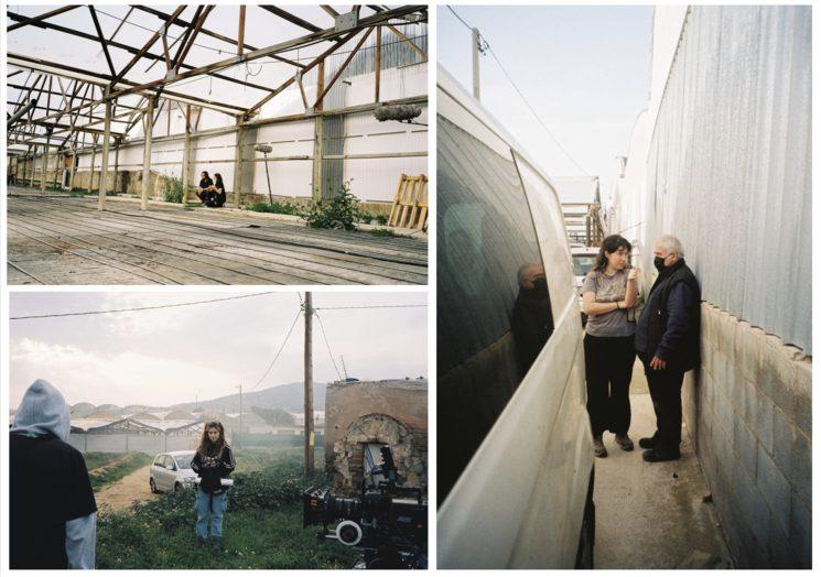 Fotografías de Paula Bustos y Mireia Gelabert del rodaje del teaser, Marzo 2021