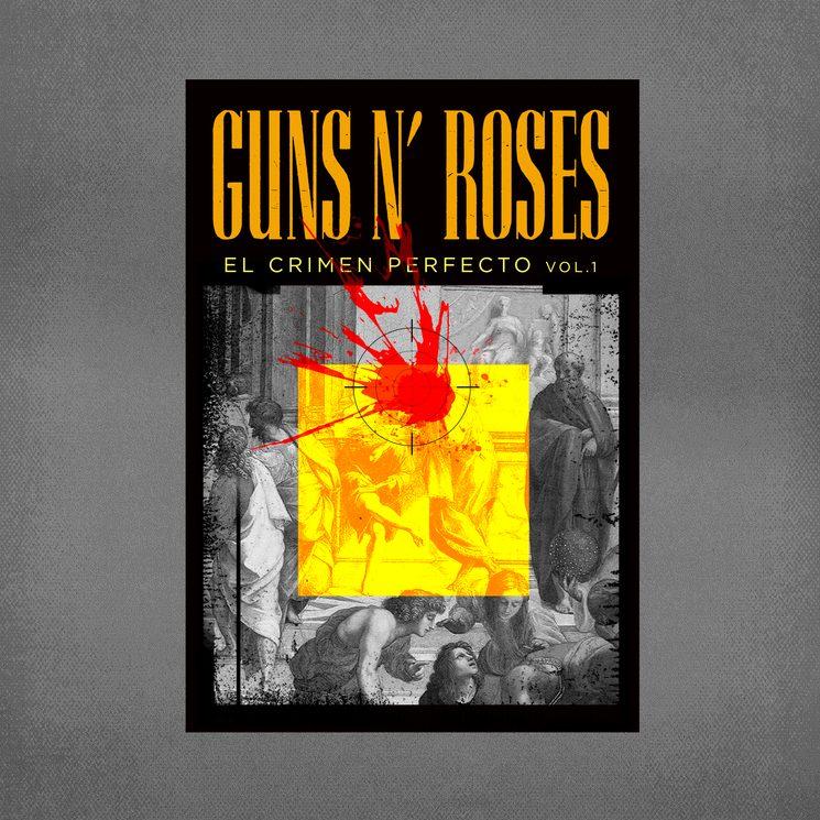 """el primer volumen de """"Guns N"""