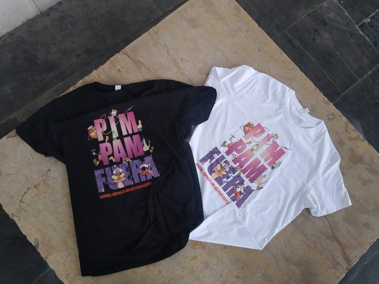 Camisetas Pim Pam Fuera