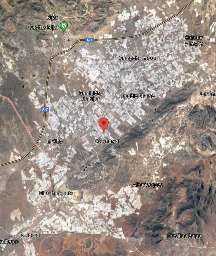 Vista aérea de Níjar