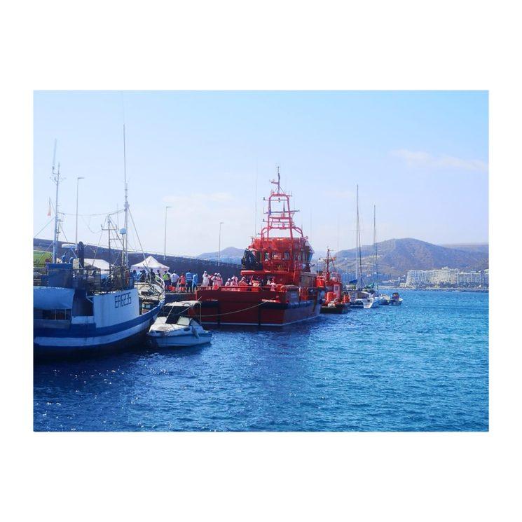 Muelle de Arguineguín.