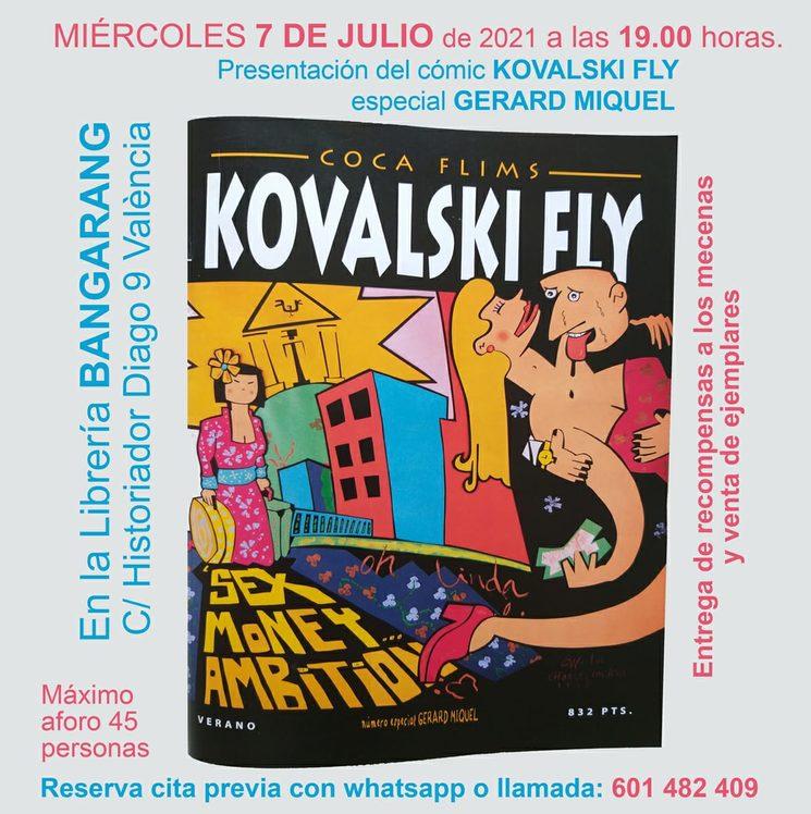 Presentación del Kovalski Fly