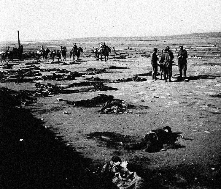 Los cuerpos de los soldados muertos en la batalla no se pudieron recuperar ni enterrar hasta que las posiciones volvieron a ser ocupadas entre octubre de 1922 (Monte Arruit) y enero de 1922 (Annual).