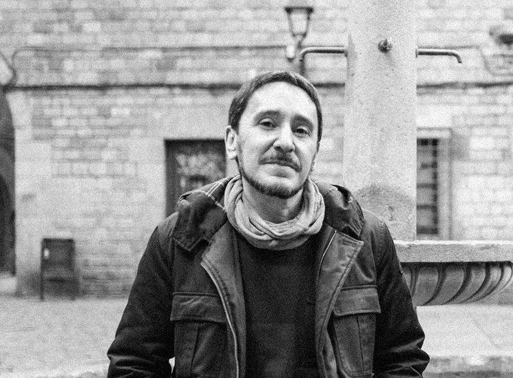 El autor, Juan Luis Martínez González / Foto: Cesc Sales