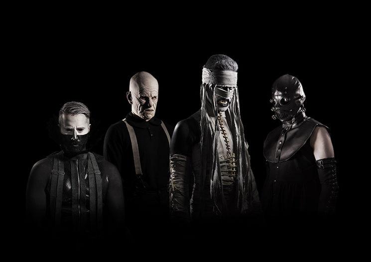 Formación actual (Klaus Von Hellman, El de Pereza, Mónica Flema, y Thiago da Sousa). Madrid, 2021.