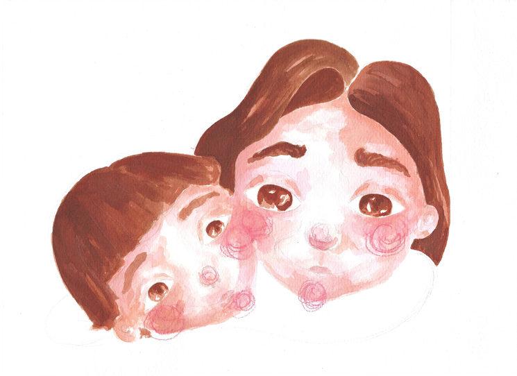 Andi y mamá
