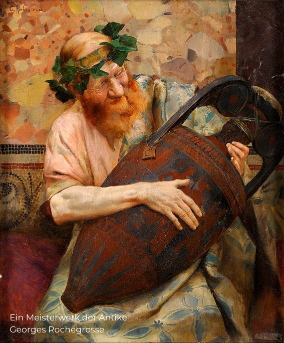 Ein Meisterwerk der Antike - Georges Rochegrosse