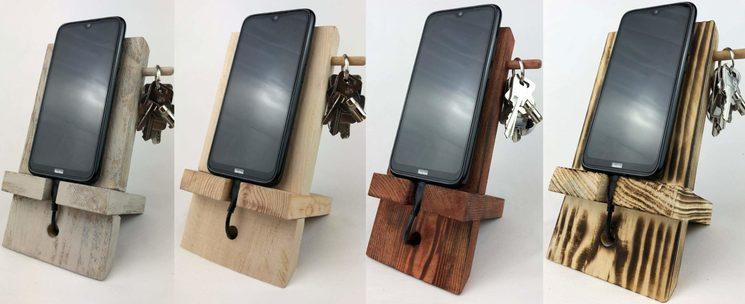 Ejemplos de soportes para teléfonos móviles/tablets