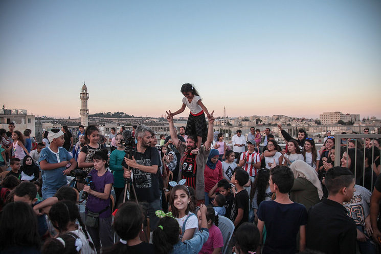 Pallasos en Rebeldía in Palestine