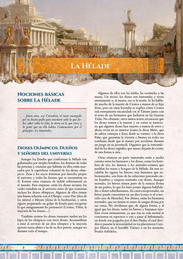 La Hélade, página 8