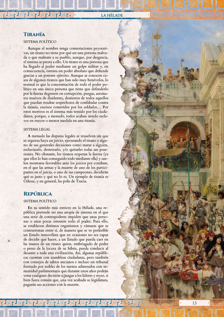 La Hélade, página 13