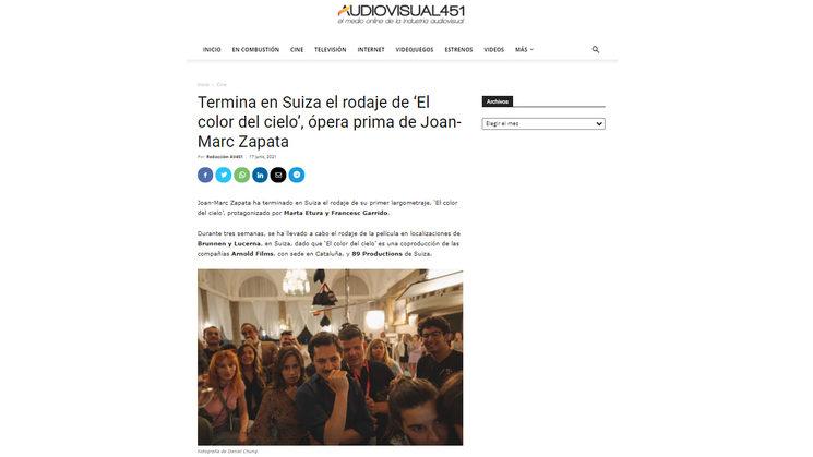 Publicación del medio Audiovisual 451