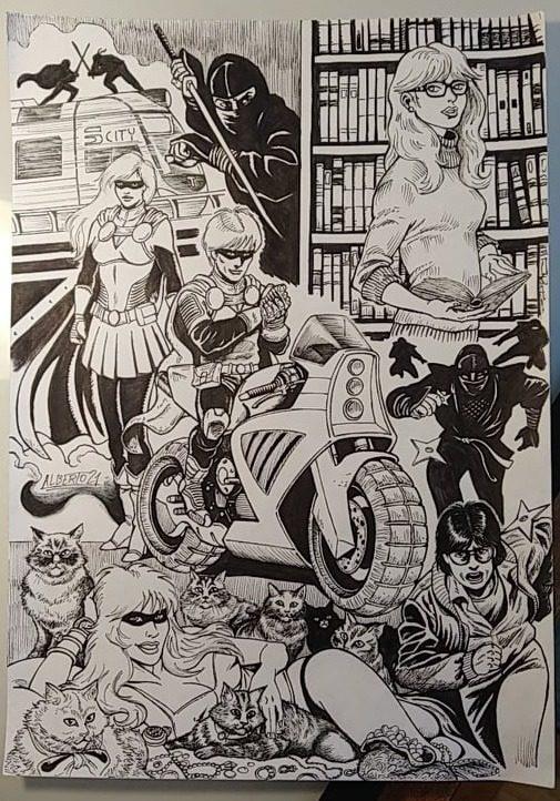 Ilustración de Alberto Martinez Fernández