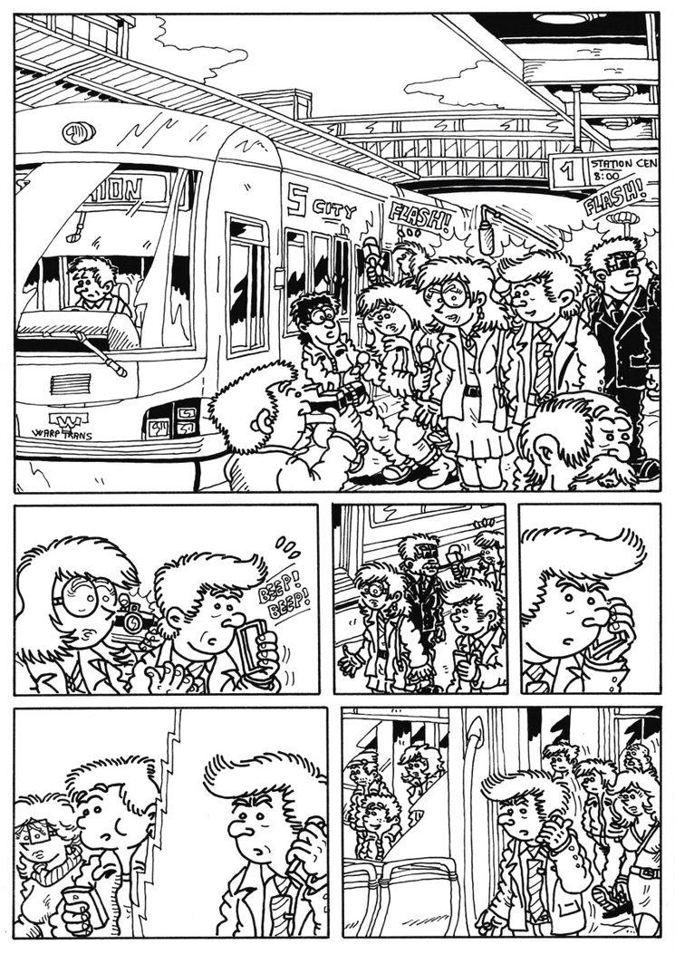 Original de la página 35 del cómic
